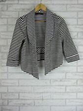 EVENTS Jacket Sz S, 10 Black and White stripe