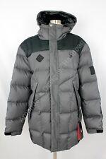 NWT Spyder Diehard Down Parka Jacket Gray/Black Size XLarge
