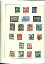 Top Sammlung Deutsches Reich 1933-1945 **/* gestempelt im Sieger Vordruck