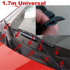1.7M Car Ageing Rubber Seal Under Windshield Panel Sealed Trim Moulding Strips