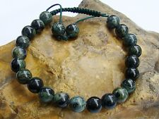 Natural Gemstone Men's Shamballa bracelet 8mm JASPER KAMBABA beads