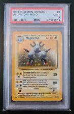 Pokemon German Magneton 9/102 Base Set Mint 1999 Psa 9 WOTC