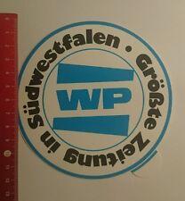 Aufkleber/Sticker: WP Größte Zeitung in Südwestfalen (13091625)