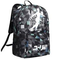 YURI!!! on ICE Victor Nikiforov Backpack Shoulder Bag Colorful
