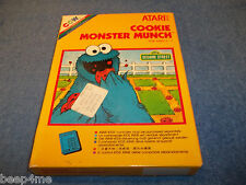 NEW ATARI 2600 COOKIE MONSTER MUNCH GAME IN FACTORY SEALED BOX 7800