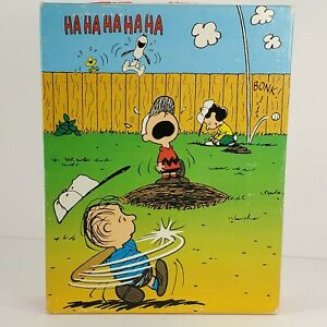 Golden Peanuts Snoopy Baseball Jigsaw Puzzle 63 Large
