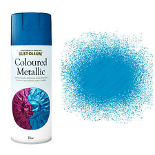 x24 Rust-Oleum multiusos Premium Pintura En Aerosol Interior Azul Metálico