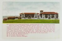 Postcard Dr. Shortle's Sanatorium Tuberculosis Albuquerque New Mexico
