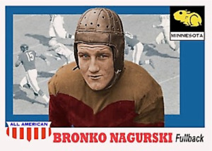 BRONKO NAGURSKI 55 MINNESOTA ACEO ART CARD ### BUY 5 GET 1 FREE ## or 30% OFF 12