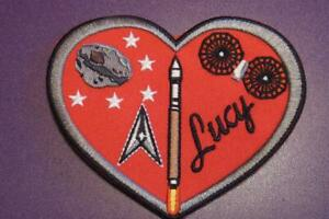 ATLAS V LUCY 5 SPACE LAUNCH SQUAD. (5 SLS) MISSION PATCH - I LOVE LUCY