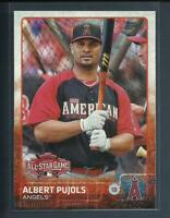 Albert Pujols 2015 Topps Update Series All Star Game Card # US68 L A Angels MLB