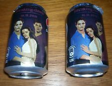 2 Twilight Saga Breaking Dawn Pepsi Limited Edition Cans from Italy