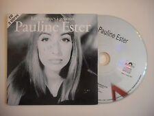 PAULINE ESTER : LES HOMMES A GENOUX [CD SINGLE PORT GRATUIT]