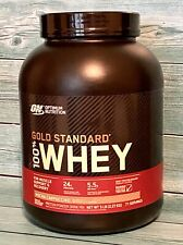 ON Gold Standard Whey Protein Powder 5lb 5 Lbs Protein Shake Mocha Cappucino NEW