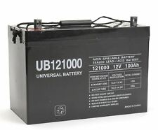 New Ub121000 45978 12V 100Ah 90Ah Battery Scooter Wheelchair Mobility Deep Cycle