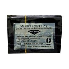 Van Aaken Modeling Clay 1Lb Black