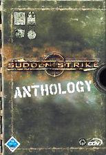 Sudden Strike Anthology (PC, 2004, DVD-Box) 3 Stück CD ROM im Schuber