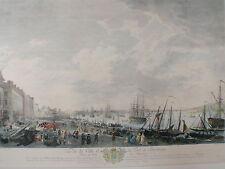 Joseph Vernet -Vue de la Ville et du Port de Bordeux du Cote Salinieres - 1764