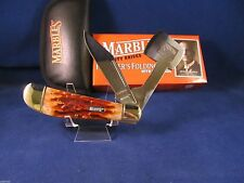 Marbles Founders Folding Axe Knife Mint In Box MR111