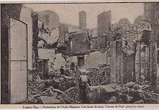 1915  --  LONGWY BAS    DESTRUCTION DE L ASILE MARGAINE    3C244
