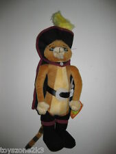 "** R@RE ** Shrek 2 Puss in Boots 12"" Plush BRAND NEW"