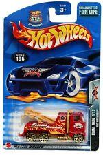 2003 Hot Wheels #195 Final Run Rig Wrecker 0710 card