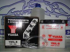 "BATTERIE YUASA YB5L-B-C/S�""URE HONDA MTX-R 125 JAHR 83 1984 85 1986 87 1988"