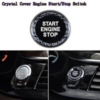 Car Crystal Cover Engine Start/Stop Switch For BMW F10/15/16/20/25/26/30/48 G20