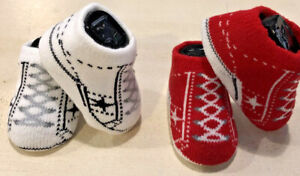 Converse Baby Booties 0-6 Months B407-1477