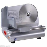 """7.5"""" Electric Meat Stainless Steel Blade Slicer Cheese Food Cutter Kitchen Home"""