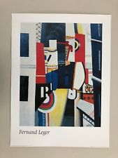 FERNAND  LEGER, 'SKETCH FOR THE TOWN' RARE AUTHENTIC 1993 ART PRINT