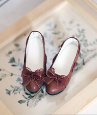 1/3 bjd SD13/16 girl doll brown color flat shoes dollfie dream Luts SDF ship US