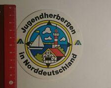 Pegatina/sticker: los albergues en el norte de Alemania DHJ (09121615)