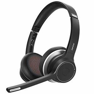 Mpow HC5 Casque Bluetooth V5.0 avec Double Micro, 22h de Conversation avec  ...