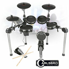Carlsbro CSD500 Electronic Mesh Drum Kit - 5 Piece Foldable USB Midi Digital Set
