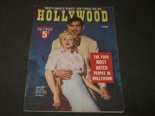 1942 OCTOBER HOLLYWOOD MOVIE MAGAZINE - CLARK GABLE & LANA TURNER COVER - M 298