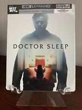 Doctor Sleep Steelbook (4K UHD/Blu-ray/Digital, Shining) Factory Sealed!