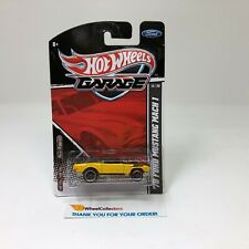 #2  '70 Ford Mustang Mach 1 * Yellow * Hot Wheels Garage Series * HH29