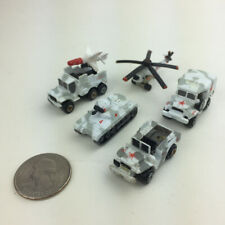 T33 Micro Machines Military Collection #5 SOVIET ARMOR white red Galoob loose