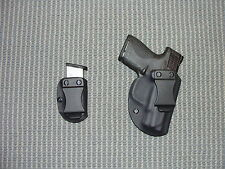 S&W SHIELD  KYDEX HOLSTER an Mag Carrier Black Right Hand IWB Best Setup