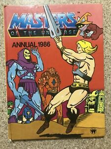 Masters Of The Universe Annual 1986 Hardcover Book