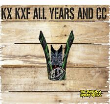KAWASAKI KXF KX 65 85 125 250 450 FRONT MUDGUARD GRAPHIC-STICKER-DECALS-CARDS