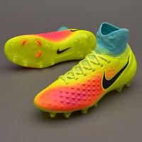 UK 4.5 Nike JR MAGISTA OBRA II FG Boys Kids Sock Football Boots (844410 708)