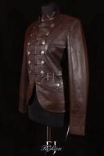 Manteaux et vestes marron en cuir pour femme taille 42