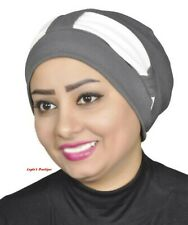 Turban Head Hijab Turban Wrap Cover Cotton Spandex Blend More Colors Available