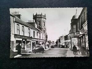 Girvan, Ayrshire, Vintage 1960s Real Photo Postcard, Dalrymple St.