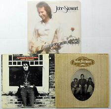 JOHN STEWART of The KINGSTON TRIO Lot of 3 LPs #3950
