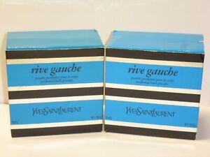 YSL RIVE GAUCHE Perfumed Bath Powder 150g / 5.2 oz. - Contents NEW / Box Damaged