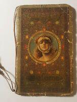 Calendarietto pubblicitario Salomé, cromolito 1925, Pasticceria Lambertini. Raro