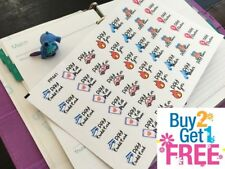 PP441 -- Pay Monthly Bill Reminders Planner Stickers for Erin Condren (42pcs)